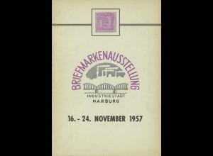 Festschrift zur Briefmarkenausstellung Harburg 1957