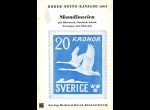 SKANDINAVIEN - Borek-Netto-Katalog, Braunschweig 1964
