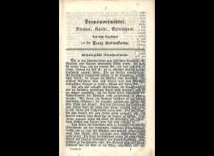 Wochenbände für das geistige und materielle Wohl des deutschen Volkes Nr. 28 bis 36