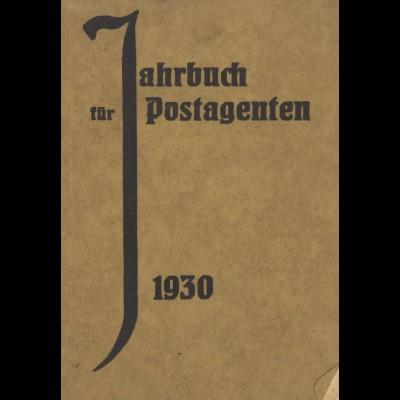 Jahrbuch für Postagenten, 13. Jg., Breslau: Förster 1930