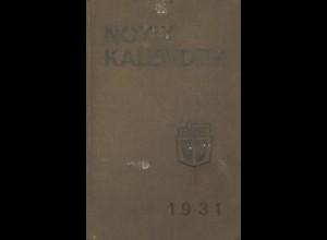 Notizkalender für das Jahr 1931