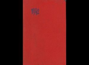 Taschenkalender für das Jahr 1942