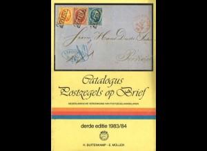Catalogus Postzegels op Brief 1981/82 und 1983/84, 2. und 3. Auflage.