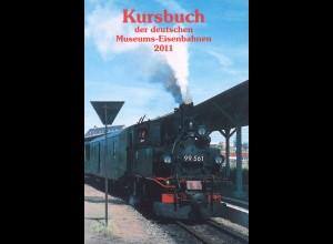 Kursbuch der deutschen Museumseisenbahnen 2011