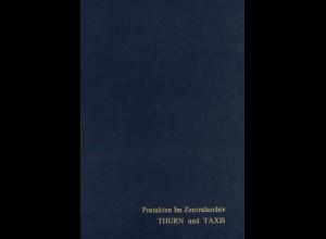 THURN & TAXIS: Repertorium der Postakten im Zentralarchiv Thurn und Taxis (1)