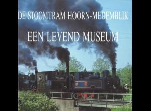 NIEDERLANDE: De Stoomtram Hoorn-Medemblik / De Noorder-Stoomtram, 1988/89.