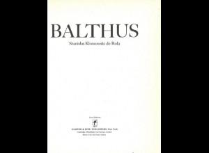 Stanislas Klossowski de Rola: Balthus, New York: Harper & Row 1983.