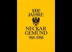 Wüst, Günther, Tausend Jahre Neckargemünd 988 - 1988.