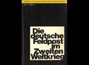 Archiv für deutsche Postgeschichte, Heft 1/1971