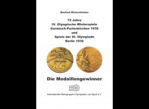 SPORT: Winterheimer, Manfred: 75 Jahre IV. Olympische Winterspiele 1936