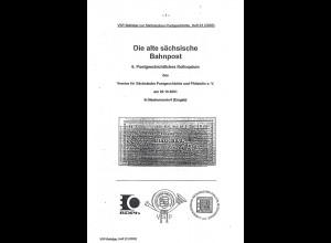 VSP-Beiträge zur Sächsischen Postgeschichte, Heft 22 (2003)