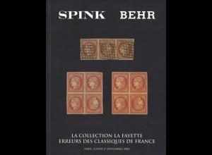 FRANKREICH: La Collection la Fayette. Erreurs des Classiques de France, 2003