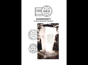 F.I.P.O. IMOS: Sonderheft 75 Jahre Olympischer Fackellauf, 2011