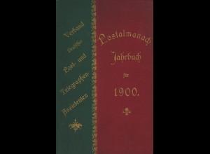 Postalmanach. Jahrbuch für 1900.