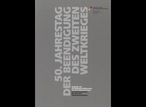 DEUTSCHLAND: 50. Jahrestag der Beendigung des Zweiten Weltkrieges, Bonn 1995.