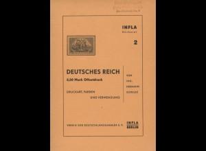 Schulze, Hermann, Deutsches Reich, 2,50 Mark Offsetdruck, Berlin 1958.