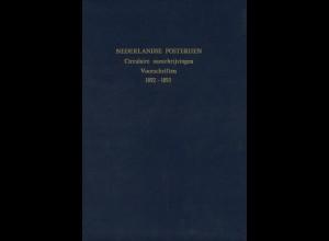 Nederlandse Posterijen. Circulaire aanschrijvingen. Voorschriften 1892-1910
