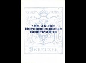 ÖSTERREICH: 125 Jahre Österreichische Briefmarke, Wien 1975.