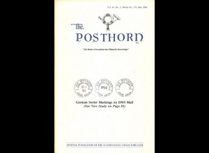 The Posthorn, hrsg. v. Scandinavian Collectors Club, 1988/95/99.