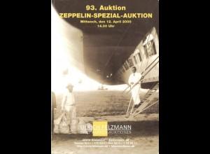 ZEPPELINPOST: Drei Auktionskataloge: Felzmann 2000/ Köhler 2001/ Gärtner 2011.