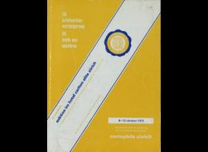 56. Briefmarken-Versteigerung, Corinphila Zürich, 8.–13. Oktober 1973.