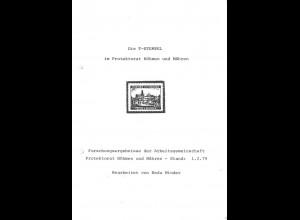 Forschungsergebnisse der AG Protektorat Böhmen und Mähren.