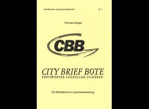 """Schriftenreihe """"Deutsche Briefdienste"""" Nr. 1 + 2, Witten 2004 + Eberswalde 2010."""