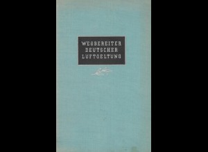 AEROPHILATELIE: Italiander, Rolf, Wegbereiter Deutscher Luftgeltung, Berlin 1941