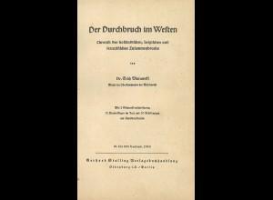 E. Murawski: Der Durchbruch im Westen (Berlin 1940)