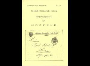 Helmut Rommerskirchen: Privatpost in Krefeld (1991)