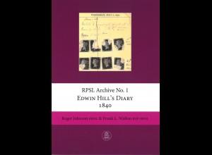 GROSSBRITANNIEN: Johnson/Walton: Edwin Hill's Diary 1840