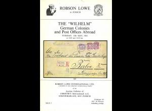 EUROPA: Robson Lowe/Christie's: Konvolut von 32 Auktionskatalogen