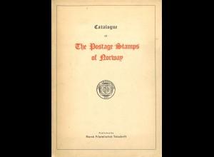 NORWEGEN/NORWAY: Catalogue of The Postage Stamps of Norway (1948)