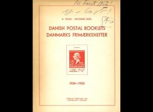 DÄNEMARK/DENMARK: A. Tholl/M Juhl: Danish Postal Booklets 1934-1950 (1952?)