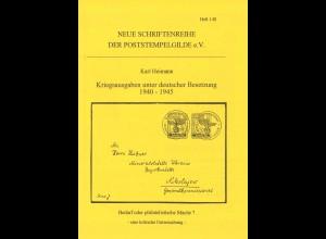 Heimann, Karl: Kriegsausgaben unter deutscher Besetzung 1940–1945 (1997)