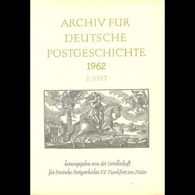 Wilhelm Hofinger: Die Post im Reich Napoleon I. (1962)