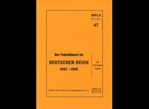 Paul-Jürgen Hueske: Der Paketdienst im Deutschen Reich 1933–1945