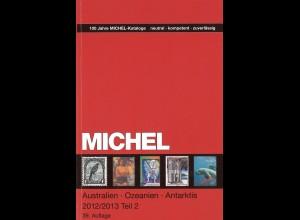 MICHEL Australien / Ozeanien / Antarktis 2012/13, 2 Teile (39. Aufl.)