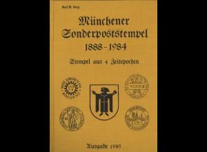 Karl B. Karg: Münchener Sonderpoststempel 1888–1984 (1985)