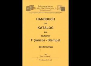 Ingo von Garnier: Handbuch und Katalog der deutschen F(ranco)-Stempel (1997)