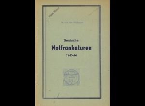 M.v.d. Wülbecke: Deutsche Notfrankaturen 1945–46 (1947)
