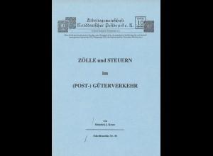 Heinrich J. Kruse: Zölle und Steuern im (Post-) Güterverkehr (1993)