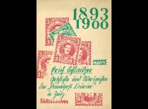Privatpost - Glasewald-Katalog 1953 + Zeitz (1964)