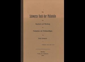 Paul Lietzow: Das Schwarze Buch der Philatelie (Reprint)