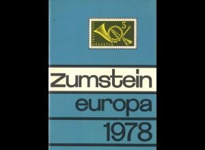 ZUMSTEIN: EUROPA 1978
