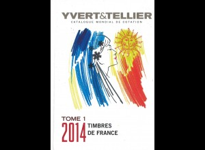 FRANKREICH: YVERT & Tellier: Timbres de France 2014