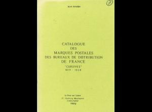 Jean Pothion: Catalogue des Marques Postales des Bureaux de ... Frances (1983)