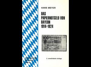 Hans Meyer:Das Papiernotgeld von Bayern 1914–1924