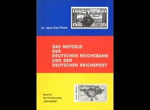 Dr. J. Rixen: Das Notgeld der Deutschen Reichsbahn und der Deutschen Reichspost