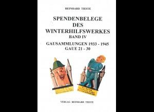 R. Tieste: Spendenbelege des Winterhilfswerkes (IV): Gausammlungen)
